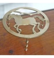 Trivet Horse Round