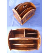 Accessories Holder Burntwood