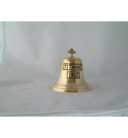 Titanic Bell with Bracket 6""