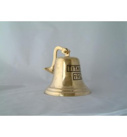 Titanic Bell with Bracket 7""