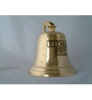 Titanic Bell with Bracket 9""