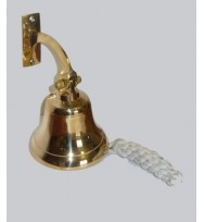 "Ship Bell with Bracket (4"")"