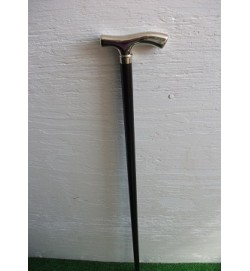 'Nickle' Crutch Handle Walking Stick