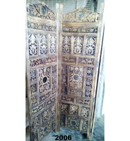 Screen 4 Panel Iron Jali work