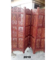 Screen 4 Panel Fine Carved Molsari Work