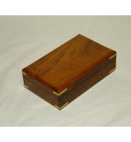 Box Plain w/brass corners 9x6