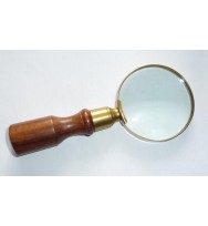 "Magnifier 3"" Light Wood B/Antique"