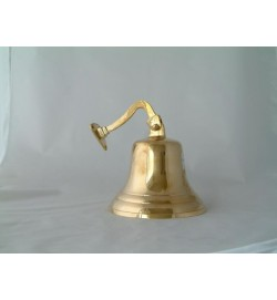 "Ship Bell with Bracket (6 3/4"") 17cm"