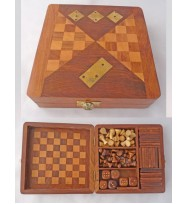 Wooden Chess Dominoe Dice