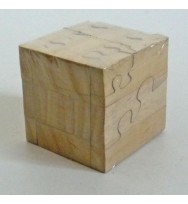 Jigsaw Puzzle Square 3 tone