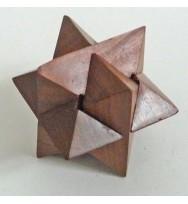 Jigsaw Puzzle Star sheesham