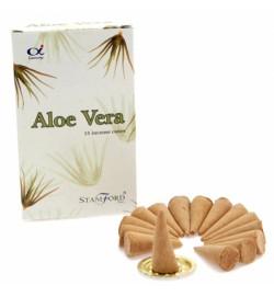 Aloe Vera Stamford Cones 15s/12Pks