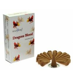 Dragon's Blood Stamford Cones 15s/12Pks