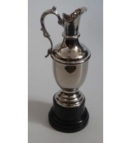 Golf Claret Trophy Nickel 15""