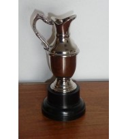 Golf Claret Trophy Nickel 6 1/4""