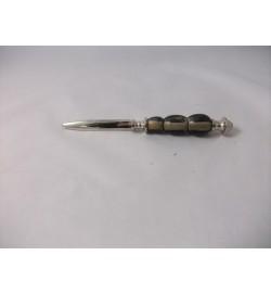 L/Opener Horn 'Beeds'  Nickel