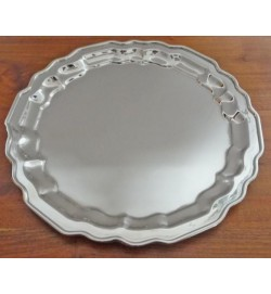 Salver Nickel 10""