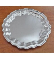 Salver Nickel 6""