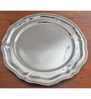 Salver Nickel 12""