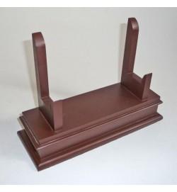 """Wooden Salver Stand 12"""""""