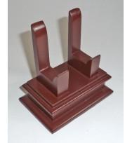 """Wooden Salver Stand 5"""""""