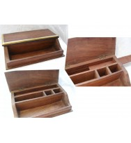 Desk Box small Top open/front tray