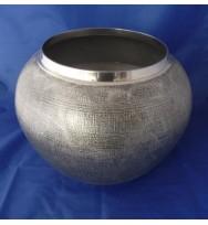 Ball Planter Silver