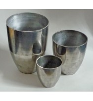 S/3 Planters Distressed