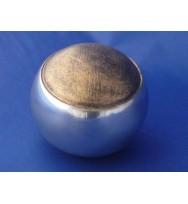 """Gold Sphere w/stripe 3"""""""