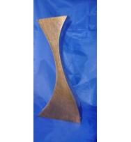 Wave Vase Large Gold