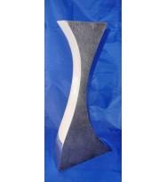 Wave Vase Large Silver