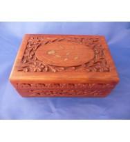 Carved Box 6x4 Polish