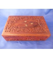 Carved box 8x5 Polidsh