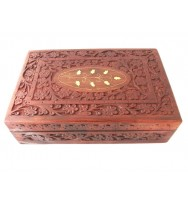 Carved Box 12x8 Polish