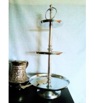 Cake Stand Polish Silver
