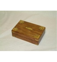 Box with brass overlay (s)