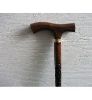 Carving Beechwood Derby Walking Stick