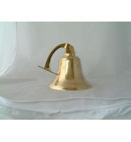 "Ship Bell with Bracket 10"" (7"")"