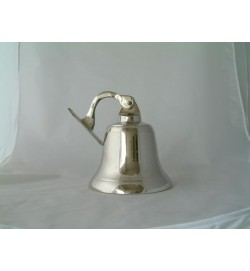 Shipbell Nickel Chrome Plate 7""