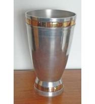 Vase tapered Brass & Copper sqs