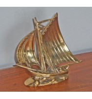 Ship Paper Weight Antique