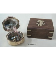 "Bronton Compass 2.5"" in Box"