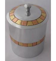 Box w/Lid Brass & Copper Medium