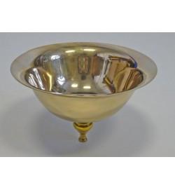 """Bowl 9""""diam Brass 10098A/B/C"""