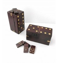Antiqued Mini Set Dominoe Box