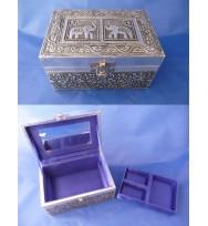 Jewellery Box Satin lined w/tray