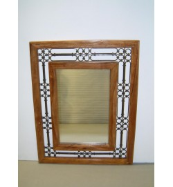 Mirror Jali Frame