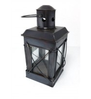 Lantern copper antique 6""