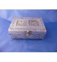 Jewllery Box Aluminium w/Camel