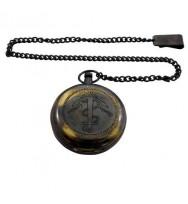 Pocket Compass w/Chain